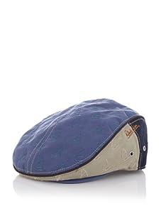 Robert Graham Men's Rodney Ivy Hat (Atlantic Blue)