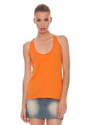 Hakei Camiseta Tirantes (Naranja)