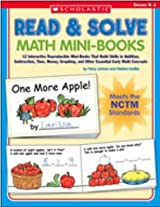 Scholastic 978-0-439-52979-2 Read & Solve Math Mini-Books