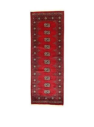 L'EDEN DEL TAPPETO Alfombra Kashmirian Rojo 78 x 217 cm