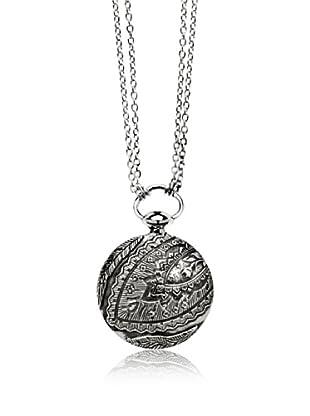 Marc O´Polo Halskette Silber Taschenuhroptik