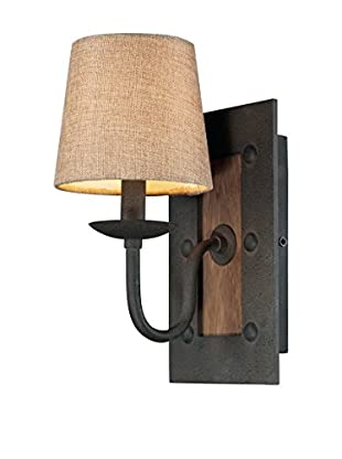 Artistic Lighting Early American 1-Light Sconce Vintage Rust