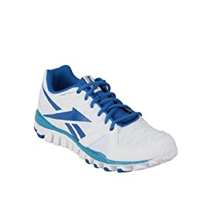 Realflex Transition 3.0 White Running Shoes