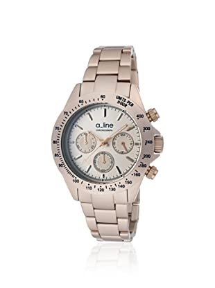 a_line Women's 20050-RR Amore Chronograph Rose Aluminum Watch
