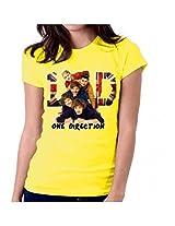 One Direction-T-Shirt-Women-Yellow
