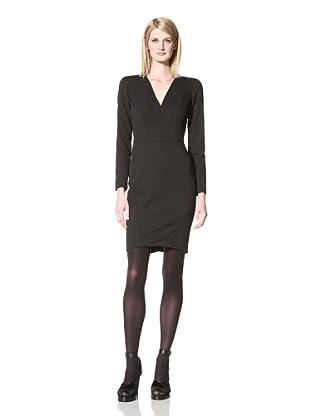 Z Spoke Zac Posen Women's Long Sleeve Dress (Black)