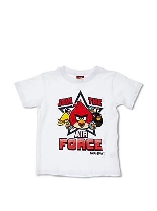 Licencias Camiseta Angry Birds (Blanco)