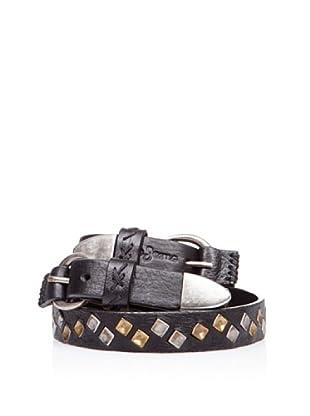 Pepe Jeans London Gürtel Fulham Belt (Schwarz)