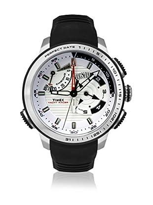 Timex Reloj de cuarzo Man Iq Yatch Racer Negro 47 mm