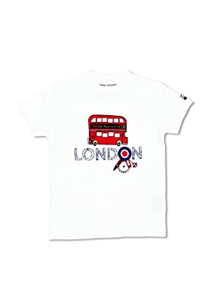 National Geographic T-Shirt London2 (Bianco)