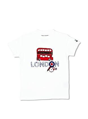National Geographic Camiseta London2 (Blanco)
