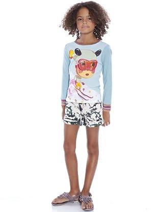 Custo Pijama Reymin (azul celeste)