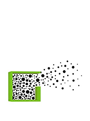 Matte Maison  Regalbrett Bubbles grün