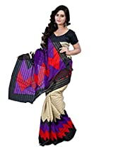 Bhavi Creations Presents Printed Art Silk Sari