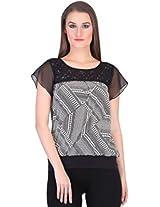 Rute Women's Shirt (NY_O601_3T_AO47_Black_XX-Large)