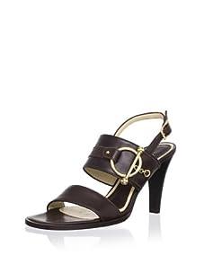 MARNI Women's Vitello Sandal (Mocha)