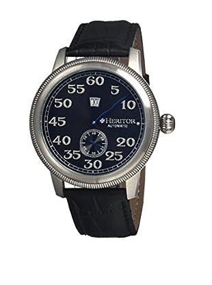 Heritor Automatic Uhr Bohr Herhr1002 schwarz 49  mm