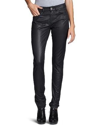 Desigual Pantalón Niedriger Bund, 27P2605 (Negro)