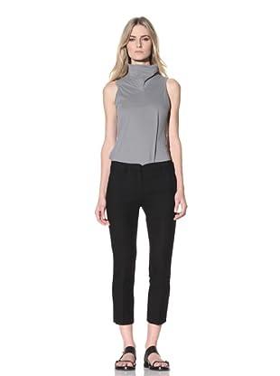 Ann Demeulemeester Women's Cropped Trousers (Black)