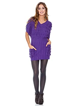 LAVAND Vestido Knit Oversized (Morado)