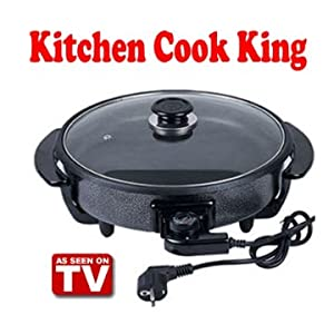 Saleshop365 Kitchen Cook King Multi Cooker Non Stick Electric Pan