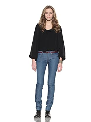4 Stroke Women's The Rose Skinny Jeans (Pacific/Western Blue)