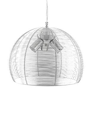 ET2 Contemporary Lighting Pendelleuchte Lux silber