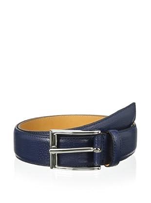 Leone Braconi Men's Britain Belt (Blue)