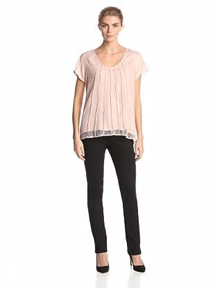 Calvin Klein Women's Lace Top (Blush)