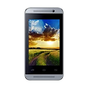 "Spice FLO 359,Android KIT KAAT 4.4"",1400 mAh battery,2MP back cam,1.3ghzdual (Silver)"