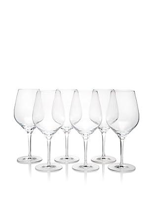 Stölzle Set of 6 Exquisit Bordeaux Glasses, 22-Ounce