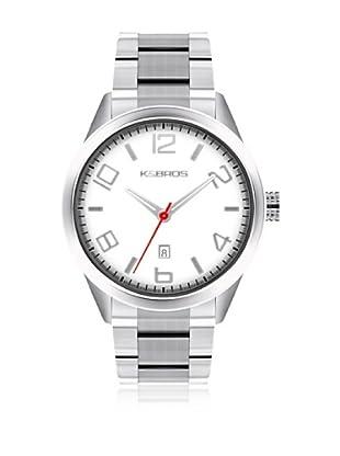 K&BROS Reloj 9483 (Blanco)