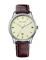 Tommy Hilfiger Analog Beige Dial Men's Watch - TH1710282J
