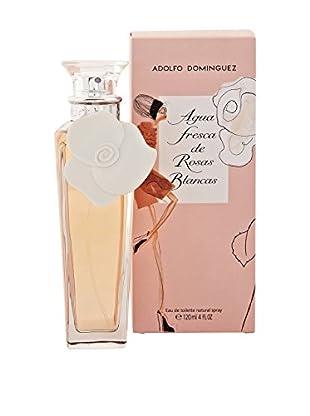 ADOLFO DOMINGUEZ Eau de Toilette Damen Agua Fresca Rosas Blancas 120 ml, Preis/100 ml: 26.62 EUR