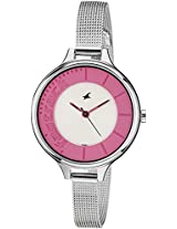 Fastrack Analog Multi-Color Dial Women's Watch - 6122SM01