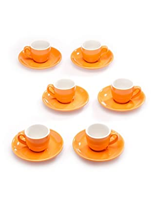 Tognana Set 6 Tazze Caffè (arancione)