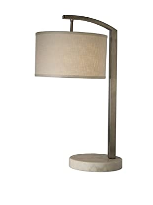 Trend Lighting Station Table Lamp, Brushed Nickel