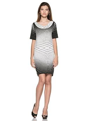 Eccentrica Vestido Alisha (Blanco/Negro)