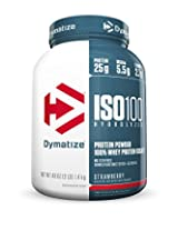 Dymatize Iso 100 Whey Protein - 3 lbs (Strawberry)