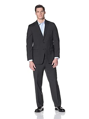 Calvin Klein Men's Malik Suit Stripe (Black)