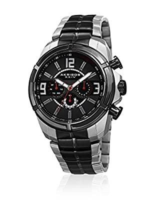 Akribos XXIV Reloj con movimiento cuarzo suizo Man AK832TTB 45 mm