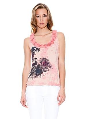 Fornarina Camiseta Rosah (Rosa)