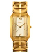 Timex Metal Golden Analog Men Watch KQ00