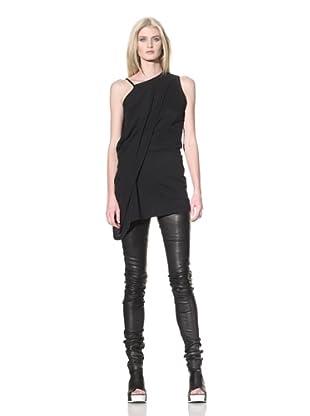 Ann Demeulemeester Women's Off-the-Shoulder Tunic (Black)