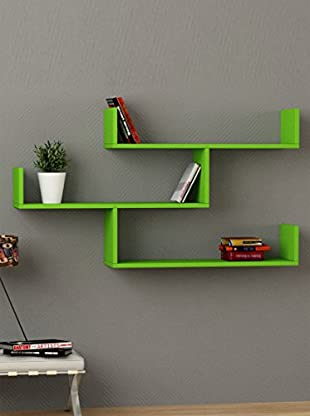 Decortie by Homemania Estante Tibet (Verde)