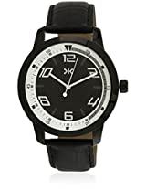 KILLER Black Dial Analogue Watch for Men (KLW242C_New1)