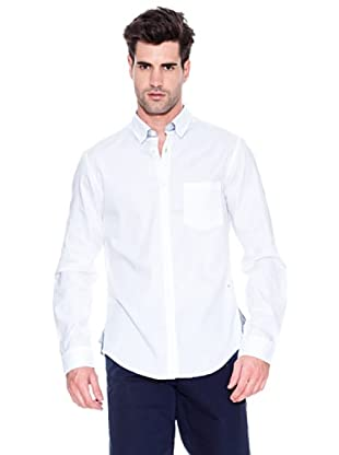 Hugo Boss Camisa Banyan (Blanco)