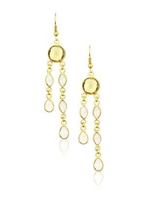 Zariin Yellow & Brown Hall of Fame Earrings