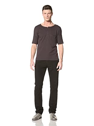Fremont Men's GM Welt Pocket Three Quarter Sleeve Tee (Charcoal)