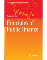 Principles of Public Finance (Springer Texts in Business and Economics)